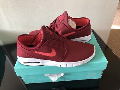 Nike Air Max L Stefan Janoski - Dark Red - New Boxed - U.K. 9.5