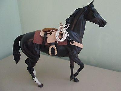Western Saddle & Stand Set for Breyer Horse Models