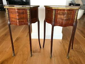 Pair of perfect condition side tables Northbridge Willoughby Area Preview