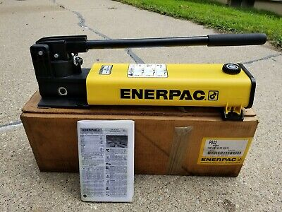 Enerpac P-842 Hydraulic Hand Pump Double Acting Two Speed 10000 Psi