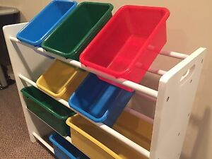 Organizer with bins