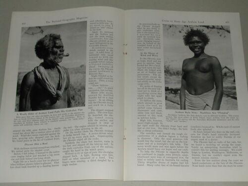 1949 magazine article, Darwin to Arnhem, North Australia steamer