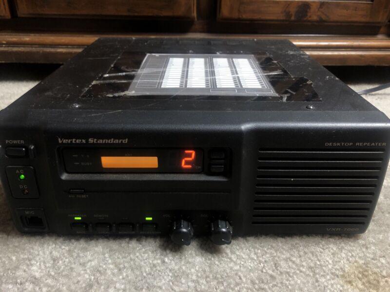 Vertex Standard VXR-7000 UHF Repeater 450-480MHz, 40 Watt, 16 CH