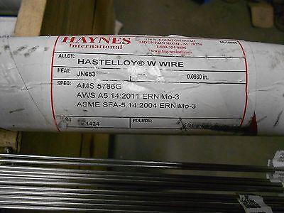 332 Haynes Hastelloy W Wire Tig 36 Welding Rod - 1 Lb - Ernimo-3