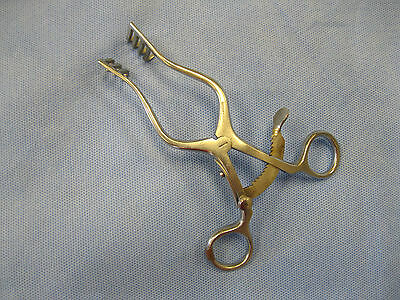 Codman 50-1220 Contour Scalp Retractor - Self-retaining With Curved Blades