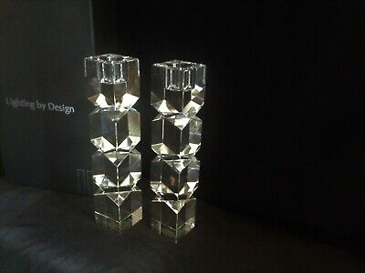 Shannon Crystal By Godinger-Dublin Collection Crystal Hurricane Votive Candle Holder