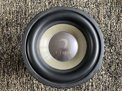 "Diamond Audio 10"" Subwoofer TDX10D4 800w RMS - Not JL Audio, Hertz, Audison, Sub"