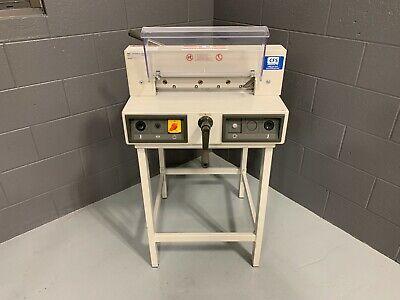 Mbm Triumph 3915-95 15 Electric Paper Cutter - Serviced Tested