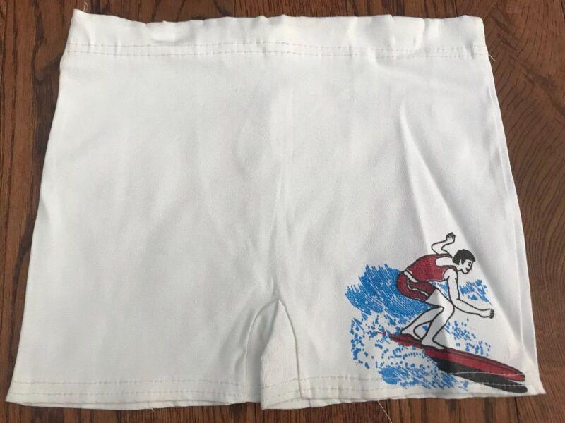 Vintage DS 60's Surfer Swim Shorts/ Trunks - Boys Medium