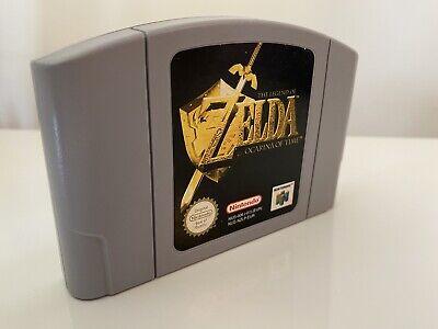 N64 NINTENDO 64 ZELDA Legend Of Zelda Ocarina Of Time PAL UK TESTED AND WORKING