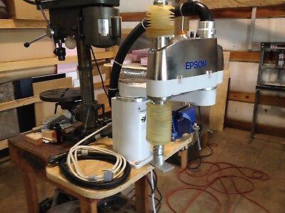 Epson Scara E2s551c 4-axis Robot Sn 00589 With Cables