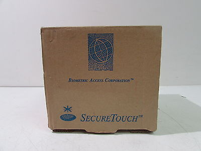 Biometric Access Corporation Secure Touch Fingerprint Scanner Id Reader Xlnt