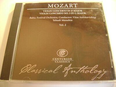 Mozart - Violin Concerto In D Major-Violon Concerto No.3 In G Major / Vol.2 -