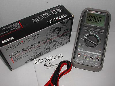 Kenwood Dl-94 5000 Count Digital Multimeter With Data Logging Dmm New Nib