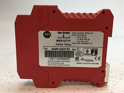 Allen Bradley 440r-n23132 Msr127tp 24 V Acdc Safety Relay - Pulled From Working