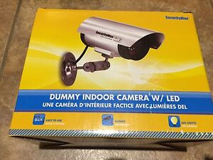 Brand New Dummy Indoor Camera with LED for $10