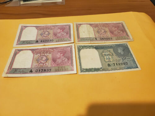 4 india notes dealer lot used