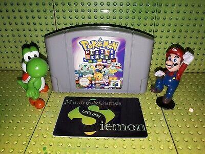 Nintendo 64 Spiel Modul Pokemon Puzzle League EUR N64 43 59
