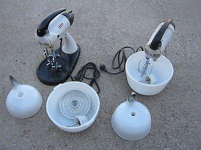 Sunbeam Mixmater Vintage Small Kitchen Appliance 2 pc Sunbeam Mixer decor only