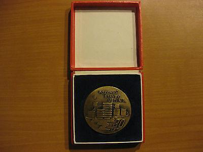 DDR CSSR Medaille Konstruktionen Usti nad Labem