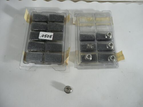 NEW 16 PCS SPRAYING SYSTEMS CO. CP56754-0505-SSENP ORIFICE INSERTS .0505 NOZZLES