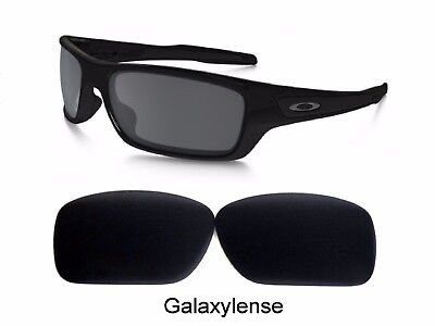 74f001c1de35 Galaxy Replacement Lenses For Oakley Turbine Sunglasses Black Polarize  100%UVAB