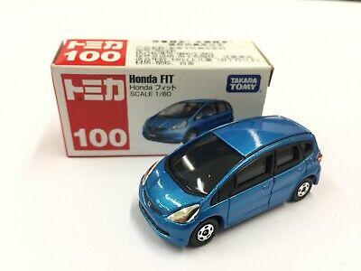 Tomica No.100 Honda Fit Jazz 1/60 Rare Die-cast Model Car Brand New