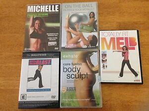 5 fitness dvd Murrumbeena Glen Eira Area Preview