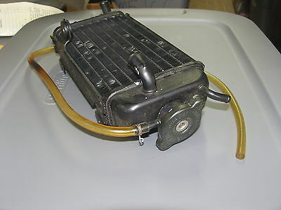 NOS Yamaha Radiator Assembly 2 w / Cap 1986-1992 YZ125 YZ 125 1LX-1240A-00