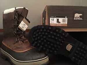 Caribou Men's Waterproof boots, new on box