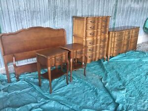 Solid Cherrywood Bedroom Set