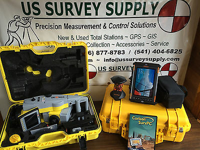 Geomax 5 Zoom90 A10 Reflectorless Robotic Total Station W Carlson - Financing