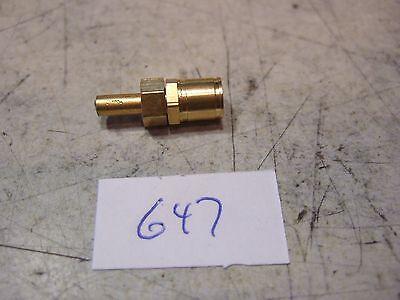 Termination - Smb Plug - 50 Ohm Gold