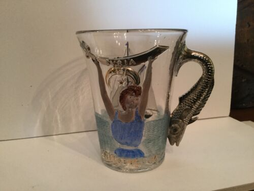 Antique Shriners Cup Atlantic City 1904 Syria Pittsburgh Pa