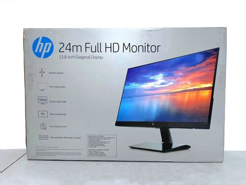 HP 24m 24-inch 1920x1080 Full HD IPS Ultra Thin Monitor (HDMI, VGA)