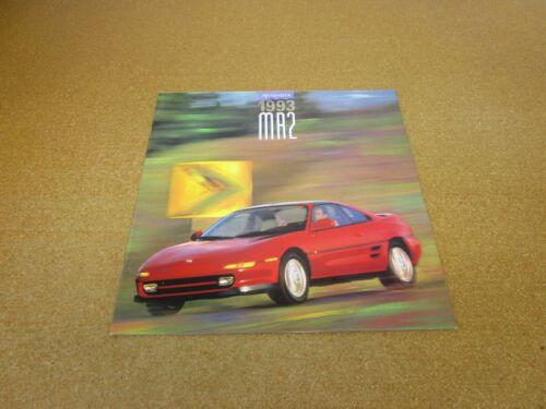 ORIGINAL 1993 Toyota MR2 Turbo sales brochure 18 page dealer literature