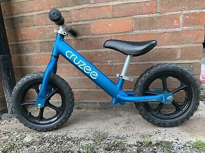 Cruzee Balance Bike Blue