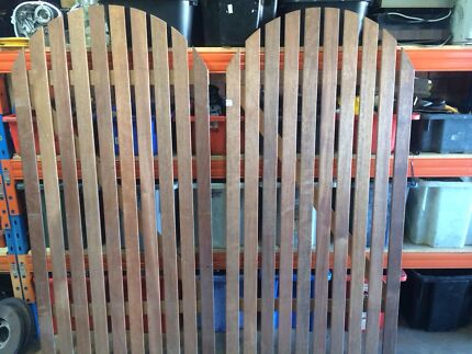 Merbau gate, wooden gate St Clair Penrith Area Preview