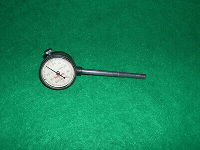 .starrett 645 Back Plunger Indicator With 14 O.d. Mounting Rod