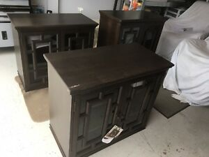3 Solid Wood Accent Chest/TV Stand/Display Cabinet.