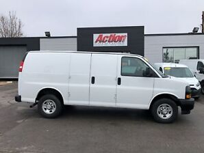 2018 Chevrolet Express 2500 Backup CAM!fin or lease from 5.99%oac