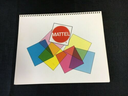 Mattel Paint Color Specifier Chart Spiral Bound