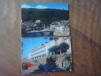Lot de 2 cartes de LA ROCHE EN ARDENNE - Corumont / Hôtel des Bruyères