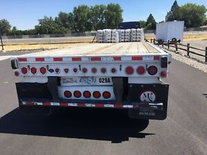 "Manac quad axle 53""trailer 2006"