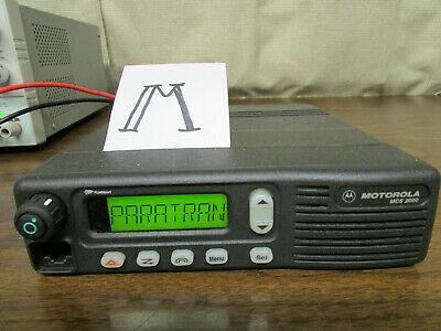 M - Motorola Mcs 2000 Mobile Radio 800mhz Uhf 250 Channels M01hx812w As-is