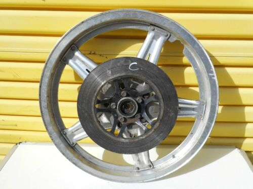 HONDA SUPERDREAM CB250N CB400N - COMSTAR SILVER FRONT WHEEL AND DISC