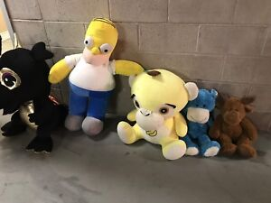 Very large stuffed toys