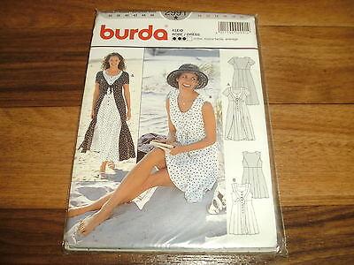 BURDA Schnittmuster 2991                      2x  KLEID                    36-46