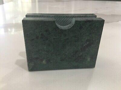 Marble Onyx Natural Stone Desktop Business Card Holder