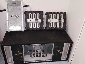 SUB BOX, CD/DVD PLAYER, X3 AMPS Campbelltown Campbelltown Area Preview